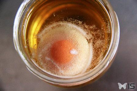 Intra science action du vinaigre sur un oeuf cru d tails for Detartrer une cafetiere vinaigre blanc